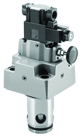 Solenoid Controlled Relief Logic Valves LBS